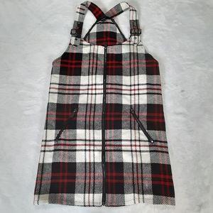 Forever 21 School Girl Style Plaid Mini Dress Sm/P